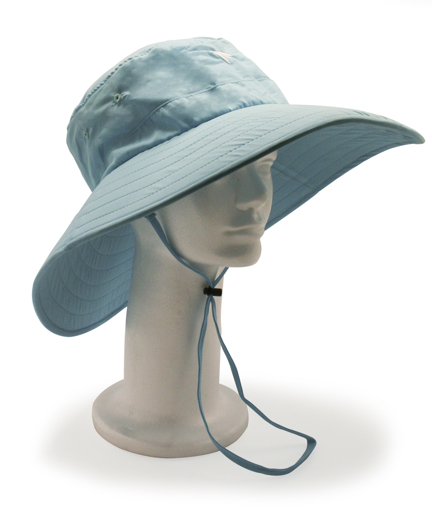 The bughat™ Work 'n Play 2.0 Hat - Blue Curacao