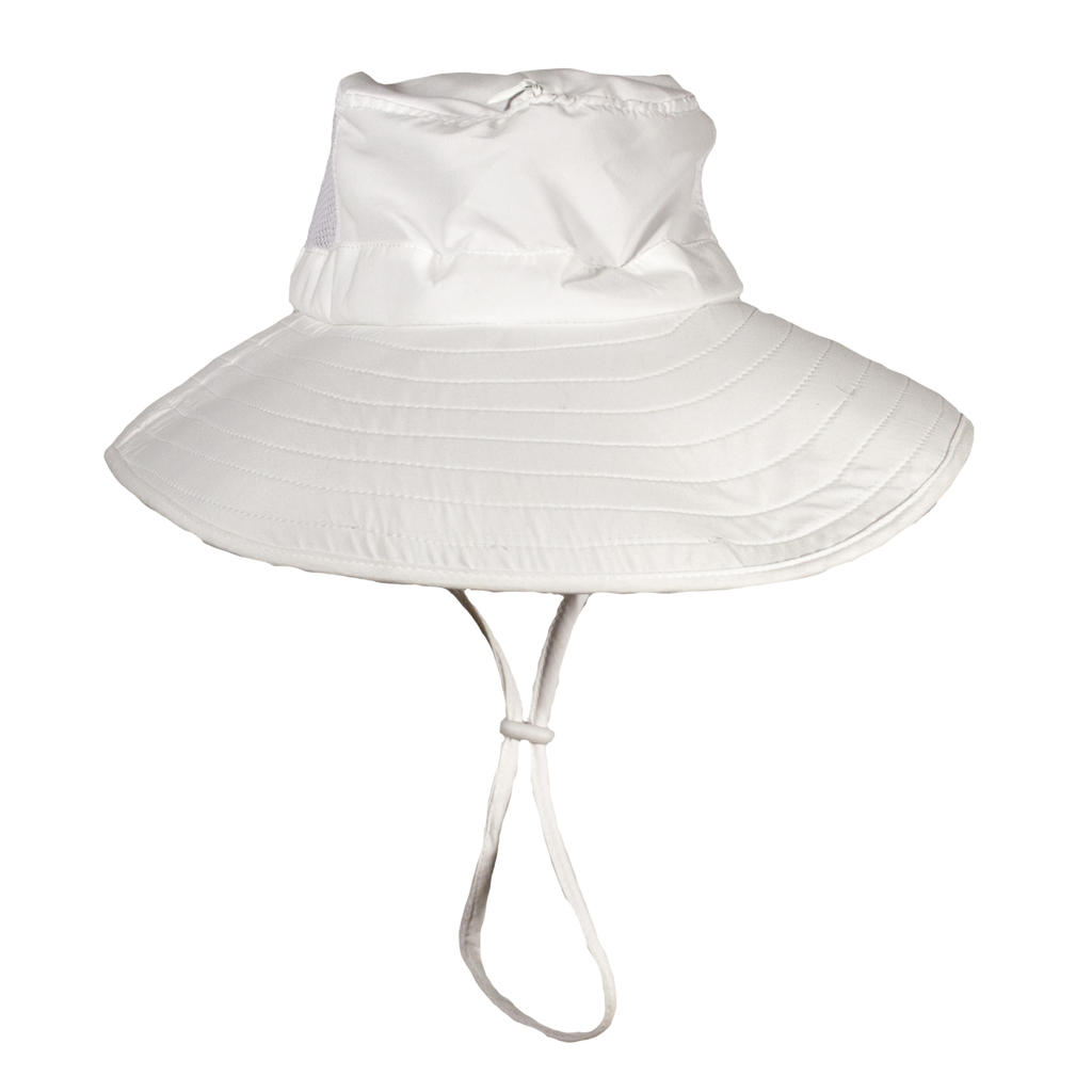 Bughat Work 'N Play Gardening Hat - White